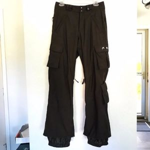 Burton | Dark Brown Burton Cargo Snowboard Pants